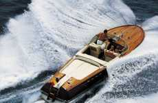 Vintage Boat Revivals - Luxury Vessel Designer Riva Still Makes Waves in the Boating Community