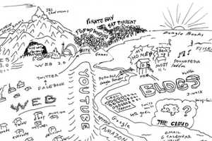 Kevin Kelly Interprets the Web With the 'Internet Mapping Project'