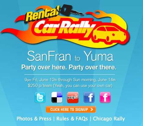 Rental Car Rallies