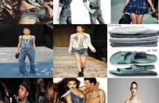 10 Denim-on-Denim Fashions - From Denim Dans to Head-to-Toe Jeans Cover Models