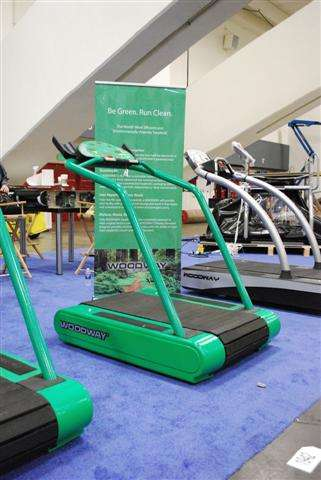 Green Gym Equipment - The EcoMill is a Self-Charging Kinetic Energy Treadmill