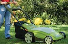 Eco-Grass Cutters - Neuton CE 6 Electric Lawn Mower Is Green on the Green