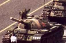 Mysterious Male Protesters - Anniversary of the 'Tank Man' in Tiananmen Square
