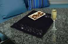 Illuminated Dinner Ware - Sylvania Creates LED Placemats For Starry Dining