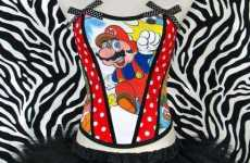 Cartoon Corsets - Vintage Doctors Show Super Mario Brothers' Style