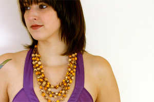 Andean Jewelry Makes Eco Acai Gems
