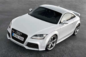 Audi Flashes New Pictures of Europe-Only 2010 TT RS Coupe