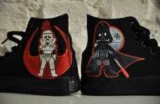 Hande Sekerciler's 'Star Wars_Darkside' Shoe Design