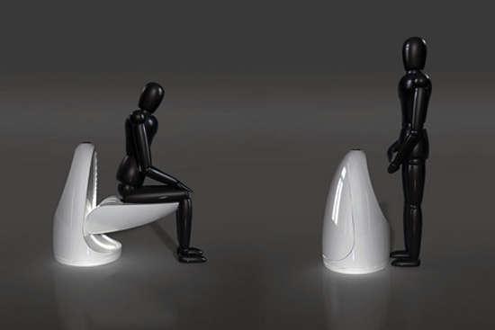 35 unique urinals. Black Bedroom Furniture Sets. Home Design Ideas
