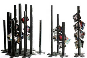 'Skyscrape' Magazine Stand by Fredrik Färg
