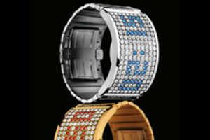 Swarovski Shows Some Sparkle With D:Light Digital Timepiece