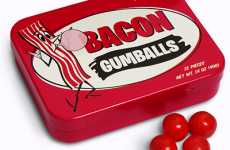 Carnivorous Candy - Savor the Taste of Breakfast With Bacon Gumballs