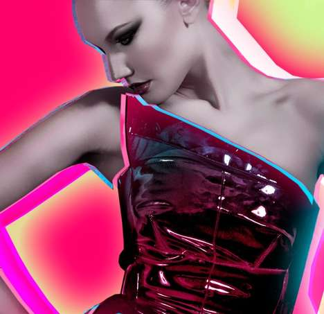 Neon Fashiontography - Joe Murtagh's 'NeonGirls' Are Blindingly Beautiful