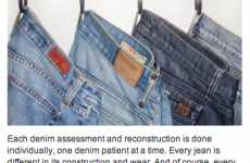 Reviving Vintage Jeans - 'Denim Therapy' Repairs Your Favorite Old Faithful Pants