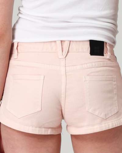 Zipper Booty Shorts