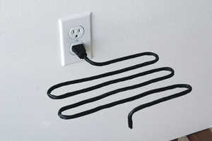 Scott Amron's Eco-Friendly Electrical Outlet Decorations (UPDATE)