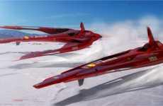 Flying Ferraris