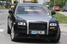 Photos Revealed of Undisguised 2010 Rolls Royce Ghost