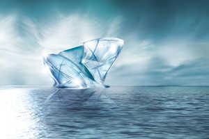 Dubai's 'Blue Crystal' World Blends Sustainability and High Class