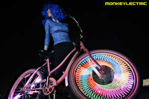 Monkeylectric Adds Customizable Wheel Art to Any Ride