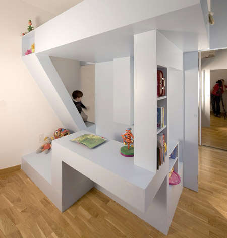 Do-It-All Dorms - Children's Bed by H20 Archtectes Brings Fun in Small Sizes
