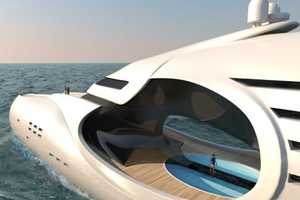 'Infintas' Schopfer Yacht is Inspired by the Infinity Symbol