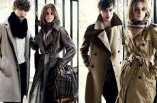 Teen Trench Coats - Grown Up Emma Watson for Burberry A/W 2009/2010 Campaign