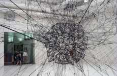 Cobweb Sculptures - Tomas Saraceno's Webby Constellation Designs at Venice Art Biennale