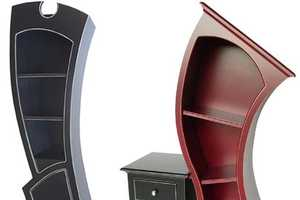 Curved Vincent Thomas Leman Cupboard is Very Wonderland (UPDATE)