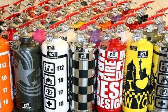 Fashionable Fire Extinguishers