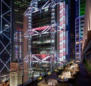 Colossal Luxury Clubs - Hong Kong Rooftop Restaurant, Sevva, is Literally High Class