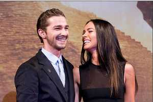 Megan Fox and Shia Lebouf Don Grubby Clothes at Premiere