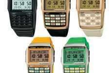 Casio Special Edition Databank Timepiece For the Retro-Hearted