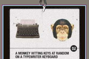 The Lucky Monkey Tests the Mind of a Computer Using a Chimpanzee