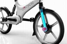 Lazy Option Bikes - The GoCycle Allows Cyclists to Pedal or Use a Motor
