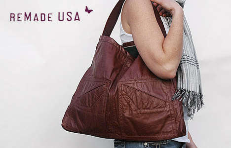 Recycled Leather Bags