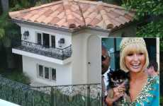 Chihuahua Palaces - Paris Hilton Reveals Minni Doggie Mansion Pics on Twitter