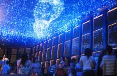 Faux Galaxy Ceilings - Tokyo Tower Main Observatory Gets 10,000 'Star' Milky Way Illumin