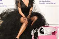 Kim Kardashian Helps You Find Footwear at ShoeDazzle