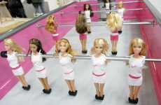 Barbie Foosball - Girly Dolls Get Masculine Makeover With Chloe Ruchon's 'Barbiefoot&#82
