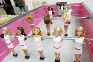 Girly Dolls Get Masculine Makeover With Chloe Ruchon's 'Barbiefoot&#82