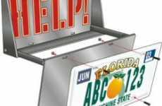 Alarming License Plates