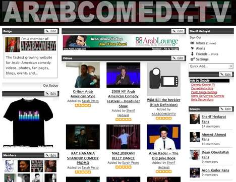 Stereotyped Social Networking - ArabcomedyTV.com Looks to Change Warped Opinions