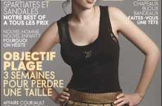 Scarlett Johansson Goes Natural in July Elle France