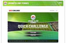 Interactive Sport Sales - EA Games Launches Grand Slam Tennis Application On Facebook