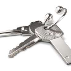 USB Keys - Tech-Savvy Keyring Storage From LaCie & 5.5 Designers