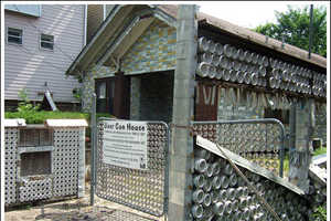 The Houston Beer Can House Was Built With Empties, From Walls to Mailbox