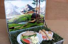 DIY Portable Picnics - The 'Green Space Travel Case' Brings the Great Outdoors Inside