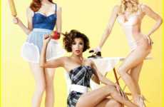 65 Modern Pin-Up & Burlesque Innovations - From Hot Retro Shoots to Vintage Clothing Collections