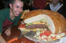 38 Ridiculous Burgers - From Heart Attack Grill Fare to Hamburger Cakes